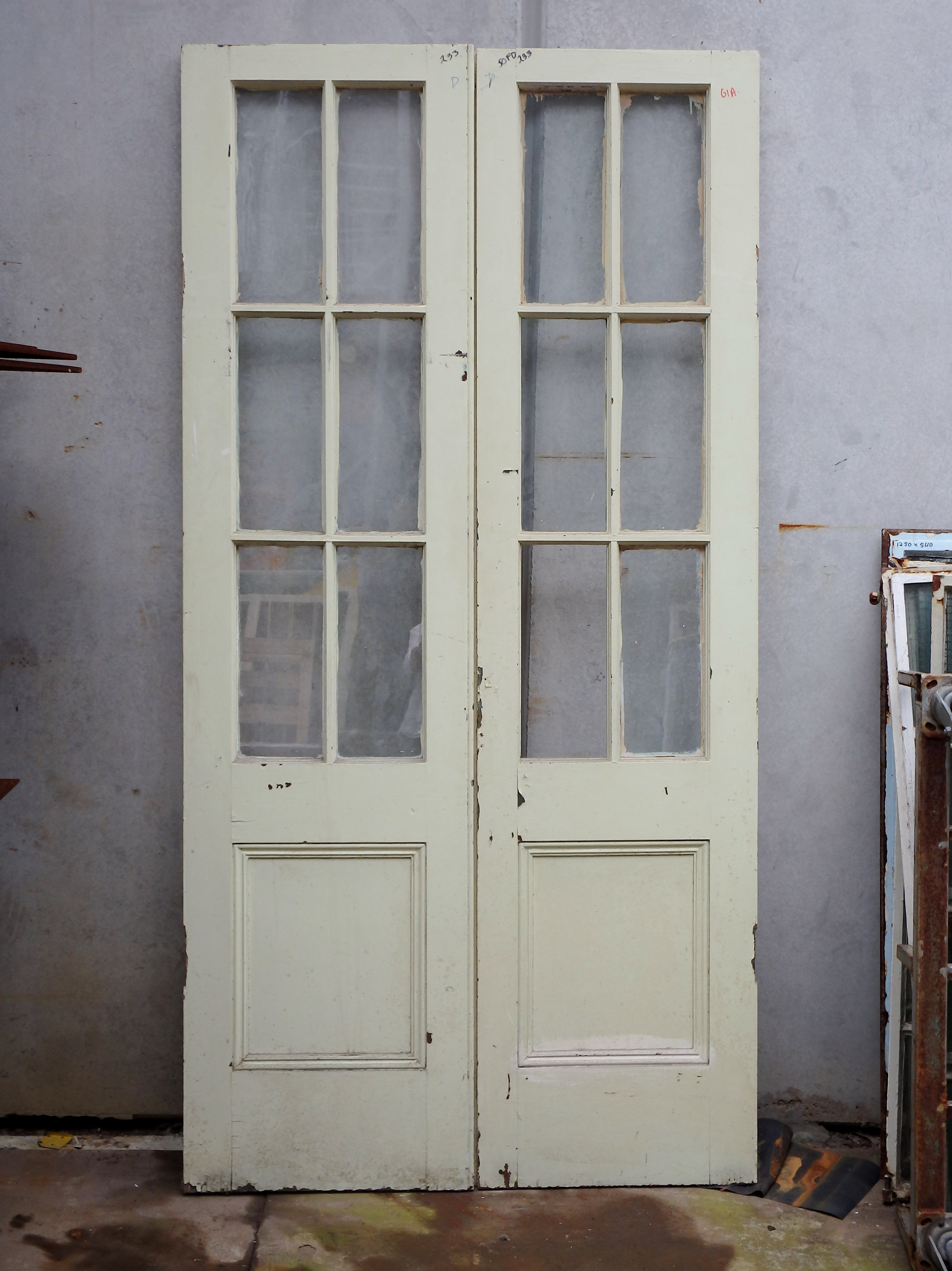 Six light french doors