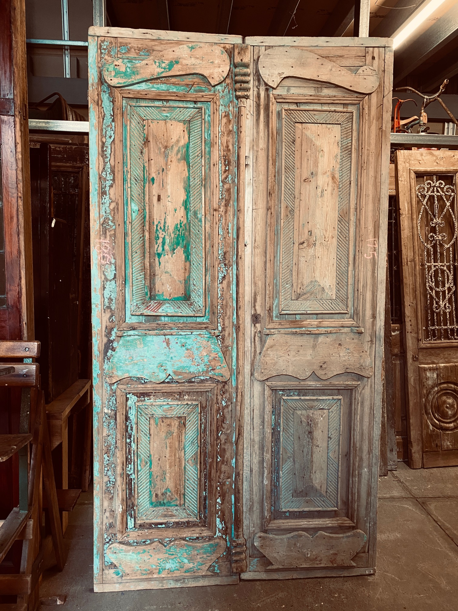 Egyptian French Doors